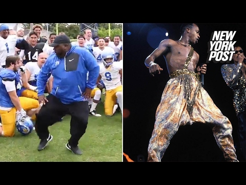 This college football coach used to dance for MC Hammer | New York Post