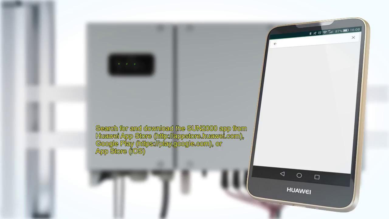 Huawei SUN2000-36KTL Solar Inverter Parameter Settings