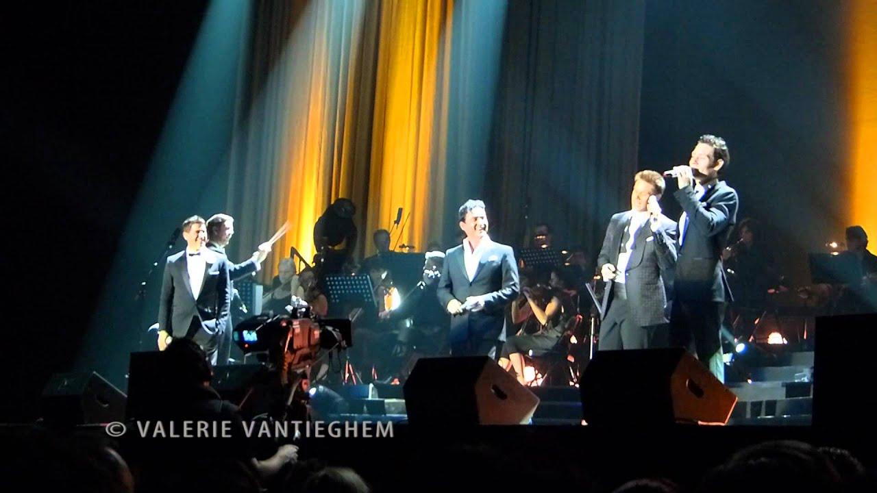 Il divo and orchestra in concert 07 il divo 39 s funny youtube - Il divo concerti italia ...