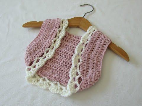 How To Crochet A Children's Pretty Summer Bolero / Shrug