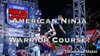 American Ninja Warrior Obstacle Course!