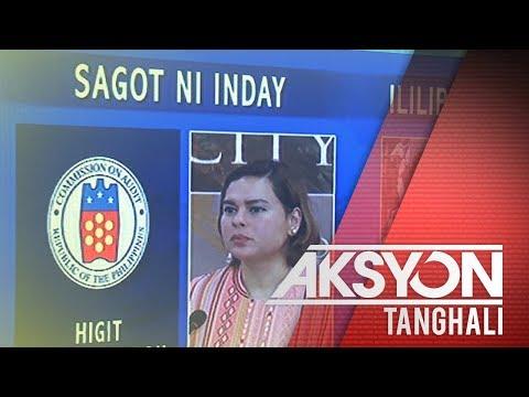 Davao City Mayor Sara Duterte, nilinaw na walang nawawala sa pondo ng siyudad