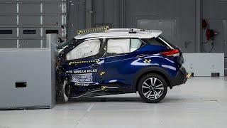 2018 Nissan Kicks Driver-side Small Overlap Iihs Crash Test