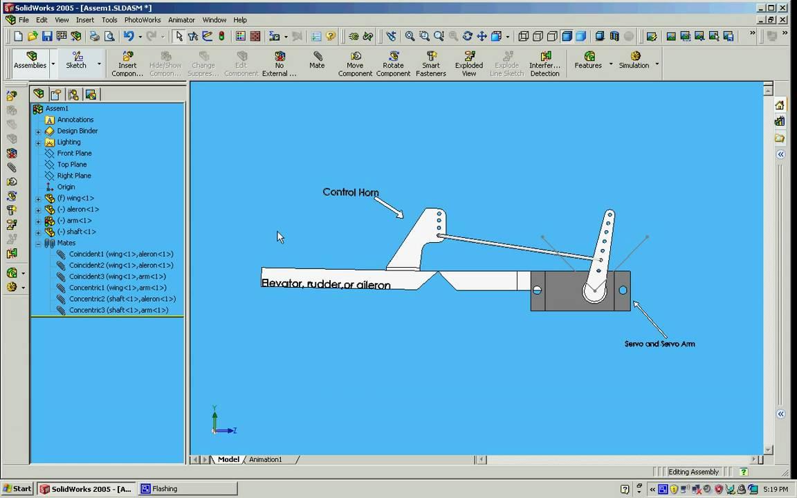 Servo Arm Control Horn Position And Pushrod Length Rc