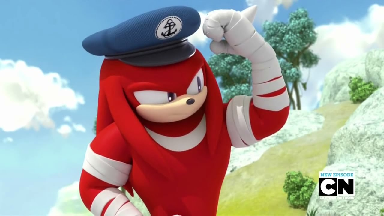 Sonic Boom Knuckles - This Is An Arm - YouTube