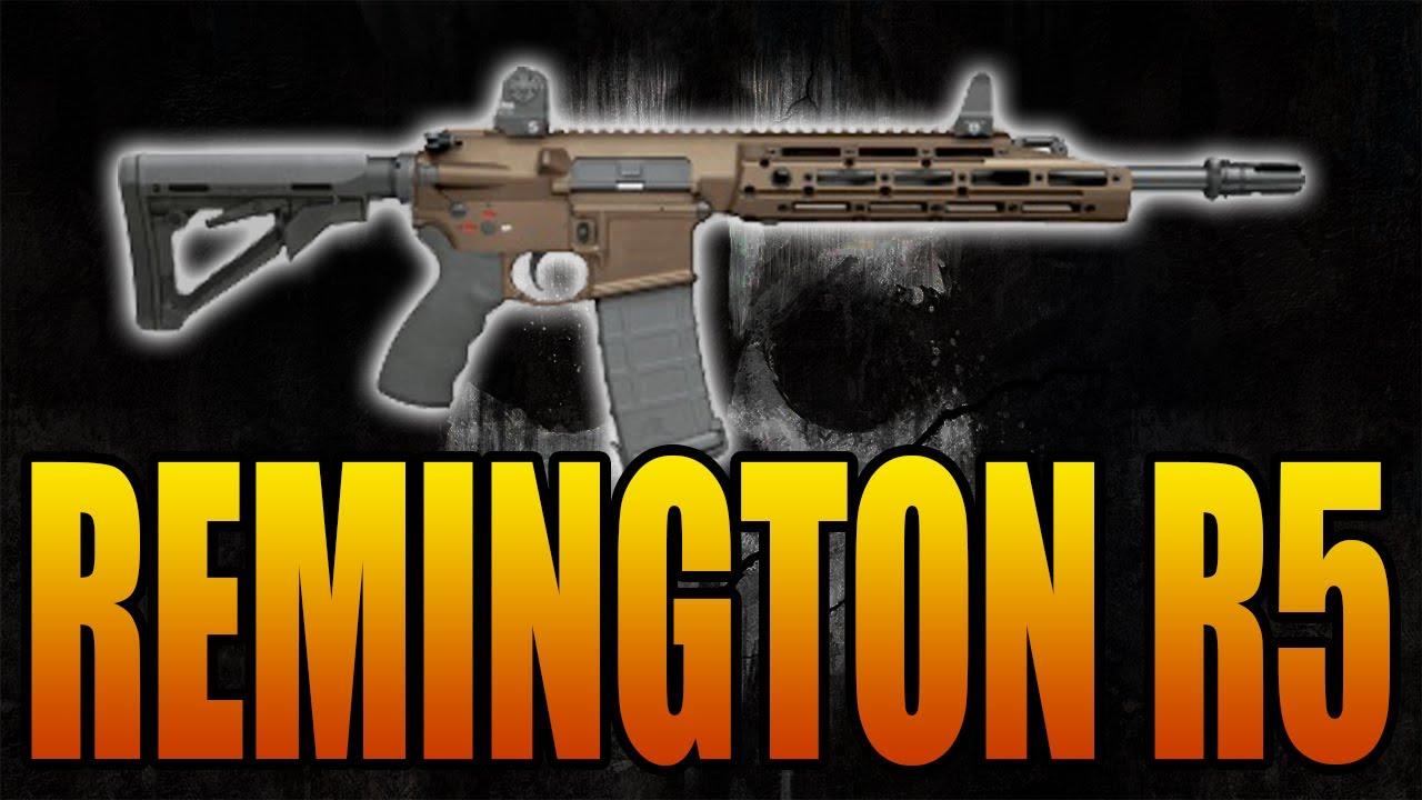 Ghosts Gun Guide: Remington R5 Assault Rifle (3 Minute or ...  Ghosts Gun Guid...