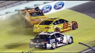 Top 10 NASCAR Sprint Cup Series Crashes of 2016