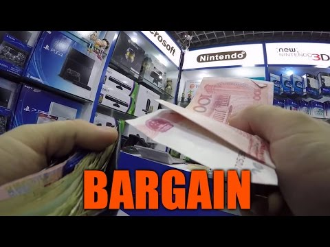 Bargaining for Playstation in China