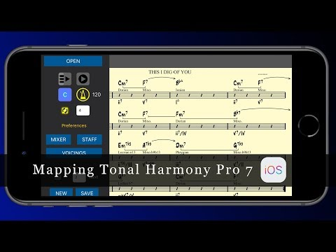 Mapping Tonal Harmony Pro 7 for IPad and iPhone is here!