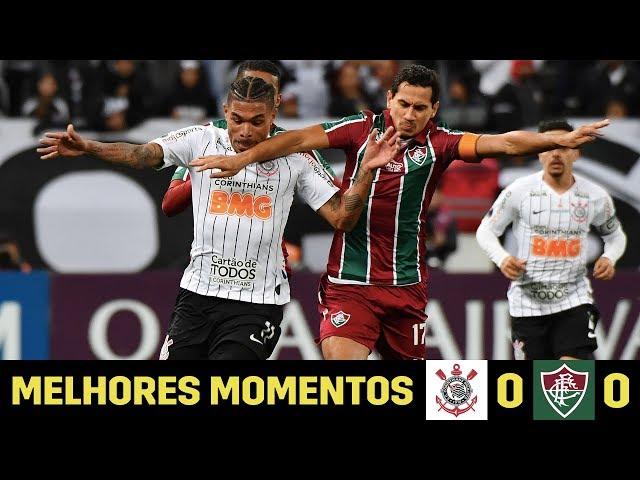 Melhores Momentos | Corinthians 0 x 0 Fluminense | Copa Sul-Americana
