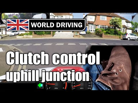 Clutch Control - Emerging At An UPHILL Junction
