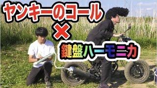 コールしてるバイクの排気口にハーモニカぶっ刺したら演奏できる説!!