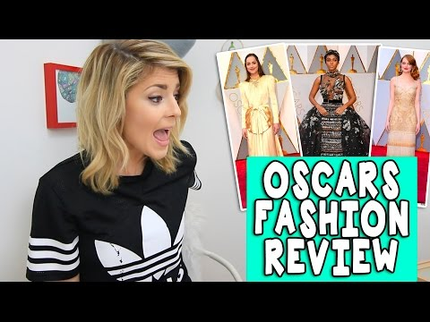OSCARS FASHION REVIEW // Grace Helbig