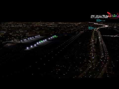 X-Plane 11 X-Life Taipei Songshan Airport (TSA / RCSS)  松山機場 ✈  Live HD