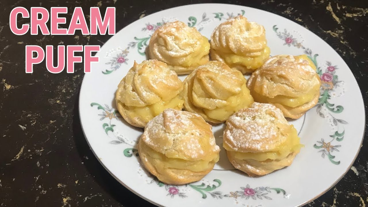Resepi Cream Puff Mudah Tak Guna Mixer | Sukatan Cawan ...