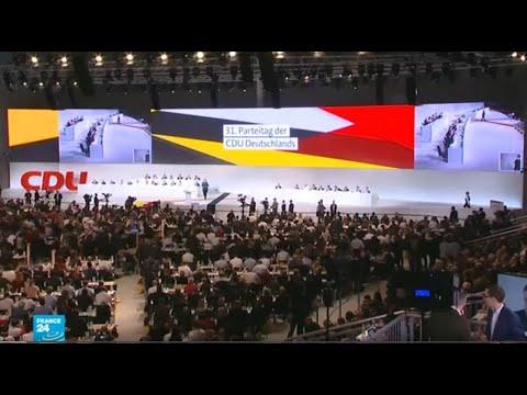 انتخاب زعيم  جديد  لحزب الاتحاد  الديمقراطي المسيحي في  ألمانيا عن طريق مؤتمر افتراضي
