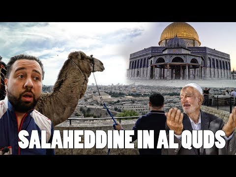 RAMADANSPECIAL!! SALAHEDDINE IN  PALESTINA - ALQUDS