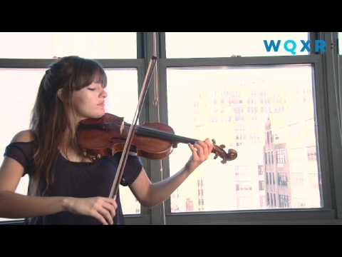 Nicola Benedetti plays Bach's Partita in D minor, Sarabande