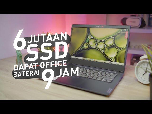 Laptop MURAH Bisa CAKEP !!! | Review Lenovo Ideapad Slim 3i 14IML05
