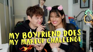 BOYFRIEND DOES MY MAKEUP WITH LIZA SOBERANO l The Gil Side