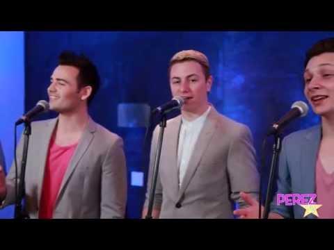 "Collabro - ""Let It Go"" (Exclusive PerezHilton.com Performance)   Perez Hilton"