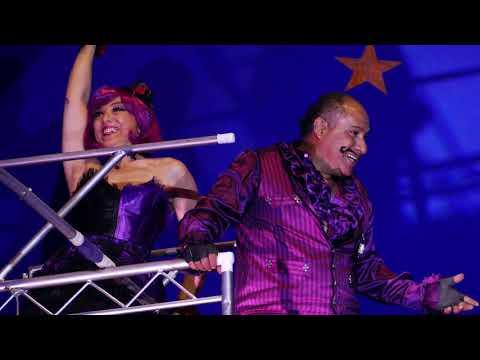 Julio Sanchez Highwire Act at Paulos Circus 2019