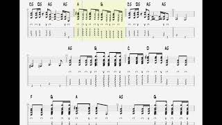 The Whitestripes - Dead Leaves & The Dirty Ground(Play Along TAB!!!!)