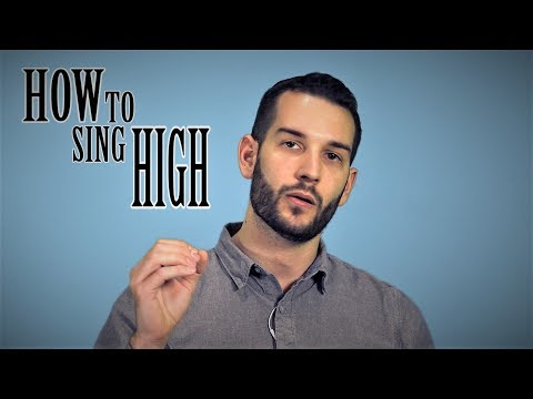 the secret to singing super high notes