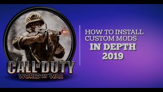 Download How To Install Mods Custom Zombie Maps Into Cod Waw Mac ...