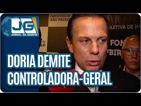 Doria demite controladora-geral