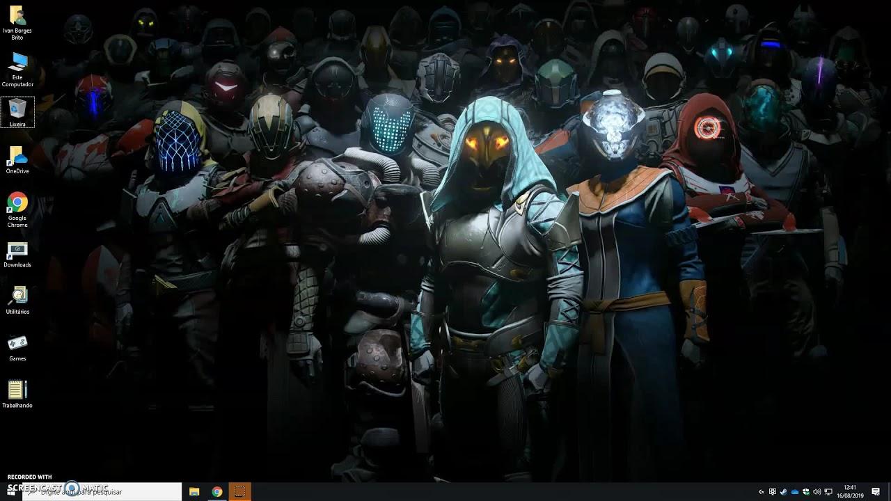 Destiny 2 Guardians Assemble Wallpaper Engine Youtube