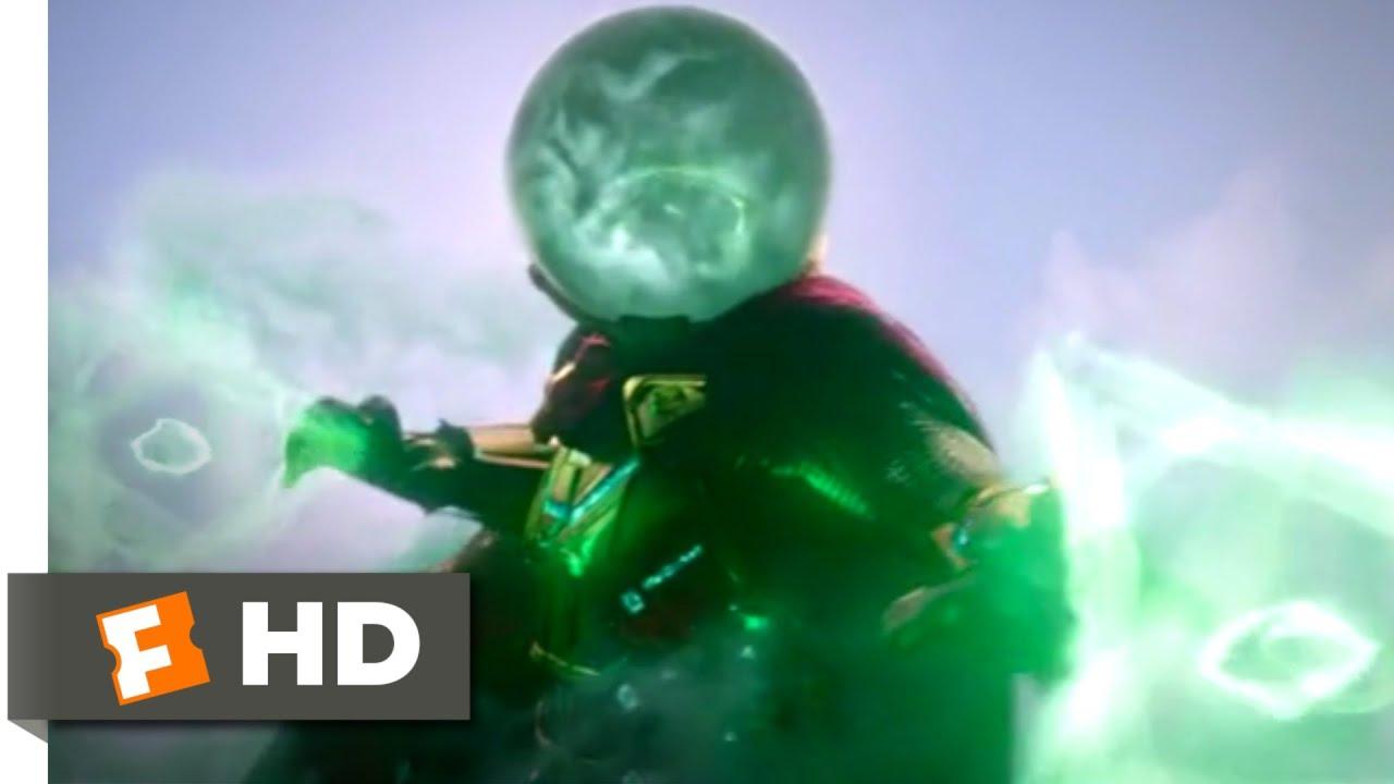 Download Spider-Man: Far From Home (2019) - Mysterio vs. Hydro-Man Scene (1/10) | Movieclips