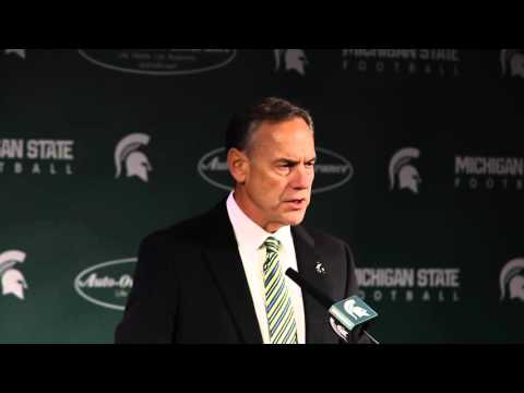Watch as Michigan State's Mark Dantonio previews Iowa