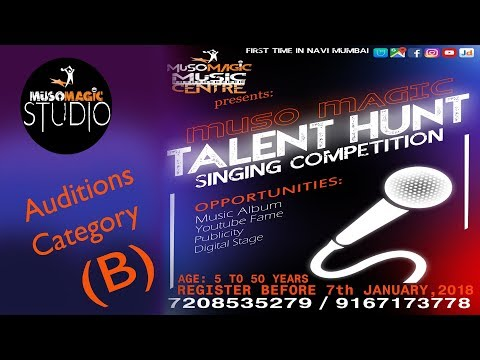Muso Magic Talent Hunt | Singing Audition | Day 1 Category B