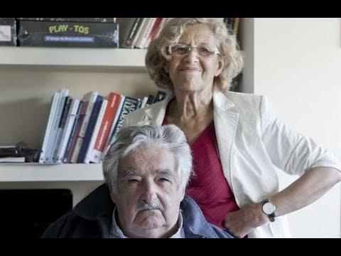 Manuela Carmena imita a Pepe Mujica