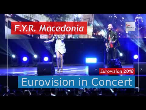 F.Y.R. Macedonia Eurovision 2018 Live: Eye Cue - Lost And Found - Eurovision in Concert