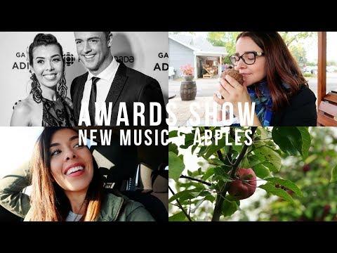 VLOG 003 | AWARDS SHOW, NEW MUSIC & APPLES