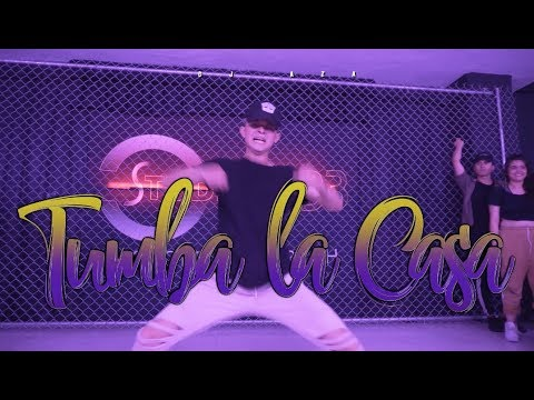 ALEXIO - Tumba La Casa Remix / CHOREOGRAPHY Hugo Mejia
