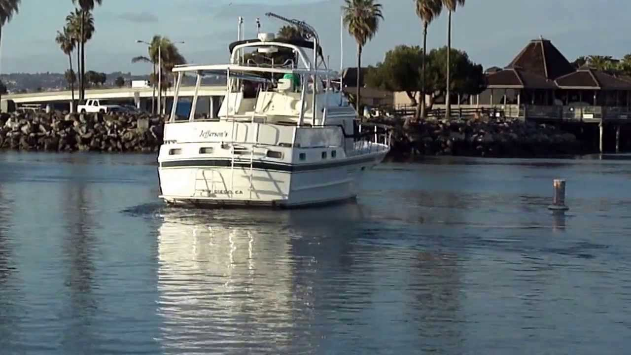 40' 1986 SPINDRIFT AFT CABIN MOTOR YACHT FOR SALE! 3 ...