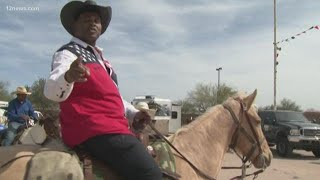 Bruce Cooper goes to the Arizona Black Rodeo