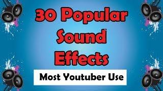 Download 30 sound efek populer yang digunakan youtuber terkenal - dengan link download