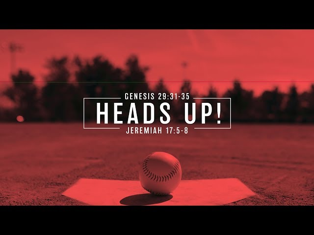 Heads Up with Pastor Brian Clark