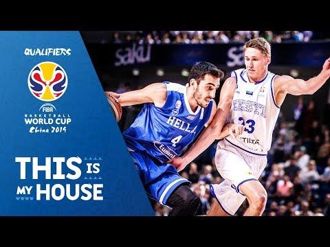 Estonia v Greece – Highlights – FIBA Basketball World Cup 2019 – European Qualifiers