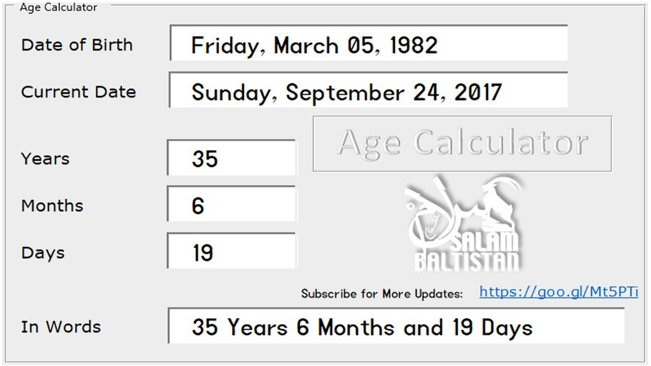 Half your age plus seven became