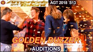 "Michael Ketterer Simon's GOLDEN BUZZER ""To Love Somebody""  America's Got Talent 2018 Auditions AGT"