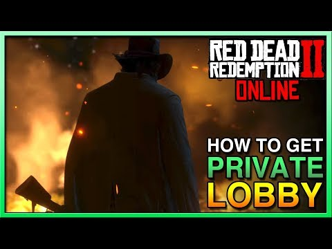 HOW TO GET PRIVATE LOBBY Red Dead Redemption 2 Online - Red Dead Online Private Lobby - RDR2 Online thumbnail