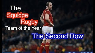The Squidge Rugby Team of the Year 2018 - The Second Row