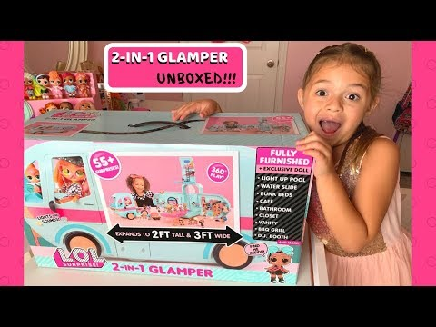 OPENING A NEW LOL Surprise!!! 2-in1 #Glamper!!! All the Details!