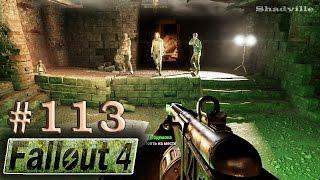Fallout 4 PS4 Прохождение 113 Старая северная церковь и Подземка