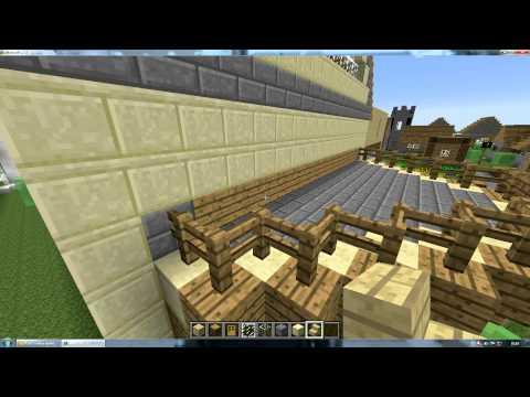 Minecraft comment cr er une belle maison 2 youtube - Comment creer une belle maison dans minecraft ...